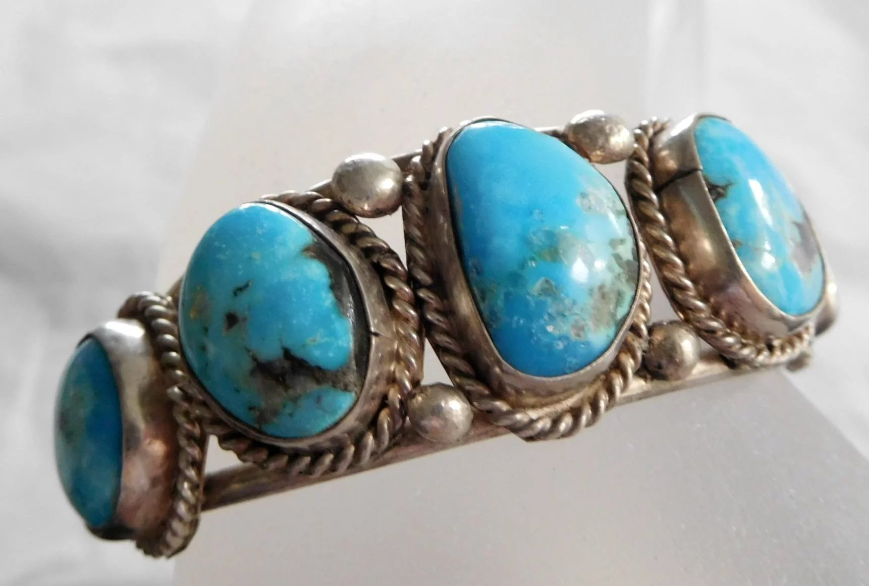 il style jewelry high p quality bracelet sleeping jewellery silver turquoise southwest beauty sterling luxury fullxfull