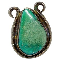 Vintage Southwest Old Native American Turquoise Ring, Size 6