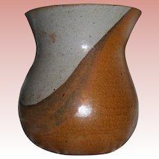 MMA Artist Gerry Eskin (Iowa Artisan 1934-2011) Museum Worthy Signed Ceramic Vase