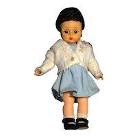 "Madame Alexander Vintage Alexander-Kin Hard Plastic 8"" Doll Circa 1965-72"