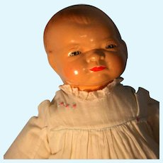 """Bye- Lo Baby Grace Storey  Putnam Doll Cameo Doll Head Circumference 12"""" 1924"""