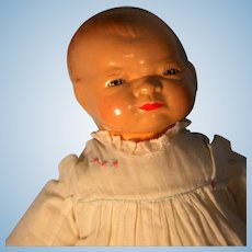 "Bye- Lo Baby Grace Storey  Putnam Doll Cameo Doll Head Circumference 12"" 1924"