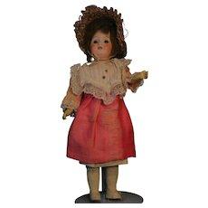 "Gebruder Heubach Antique German Bisque Doll Made in Germany. 11"" Socket Head"
