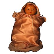 "Bye- Lo Baby Grace Storey  Putnam Doll Cameo Doll Head Circumference 12""."