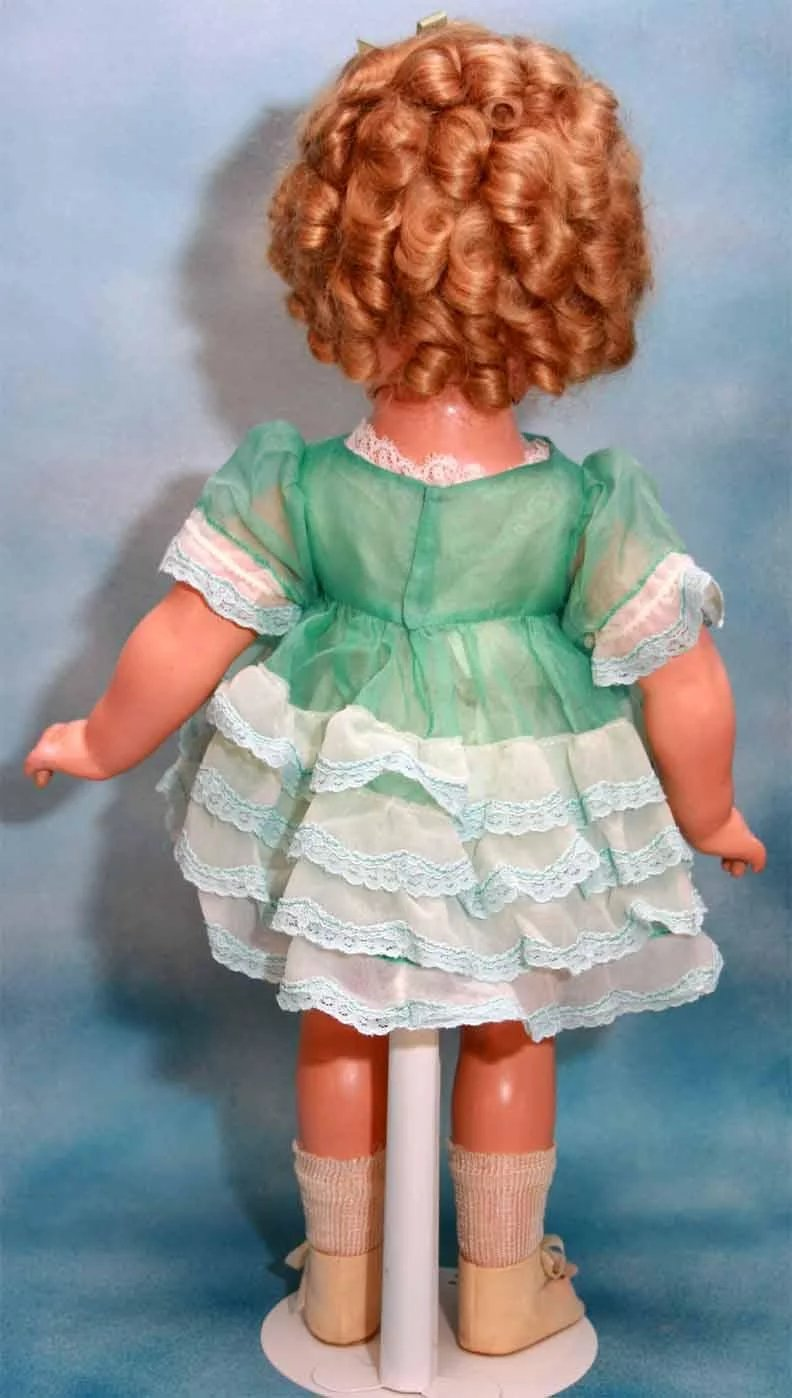 Shirley Temple Composition Doll 18 Quot Marked Shirley Temple Ideal Cop N Holich S Dolls