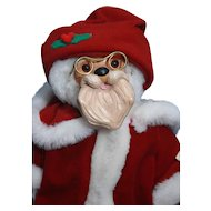 "Robert Raikes Santa 12"" 1990 Bear Christmas Collection, Limited edition 1939 of 10,000"