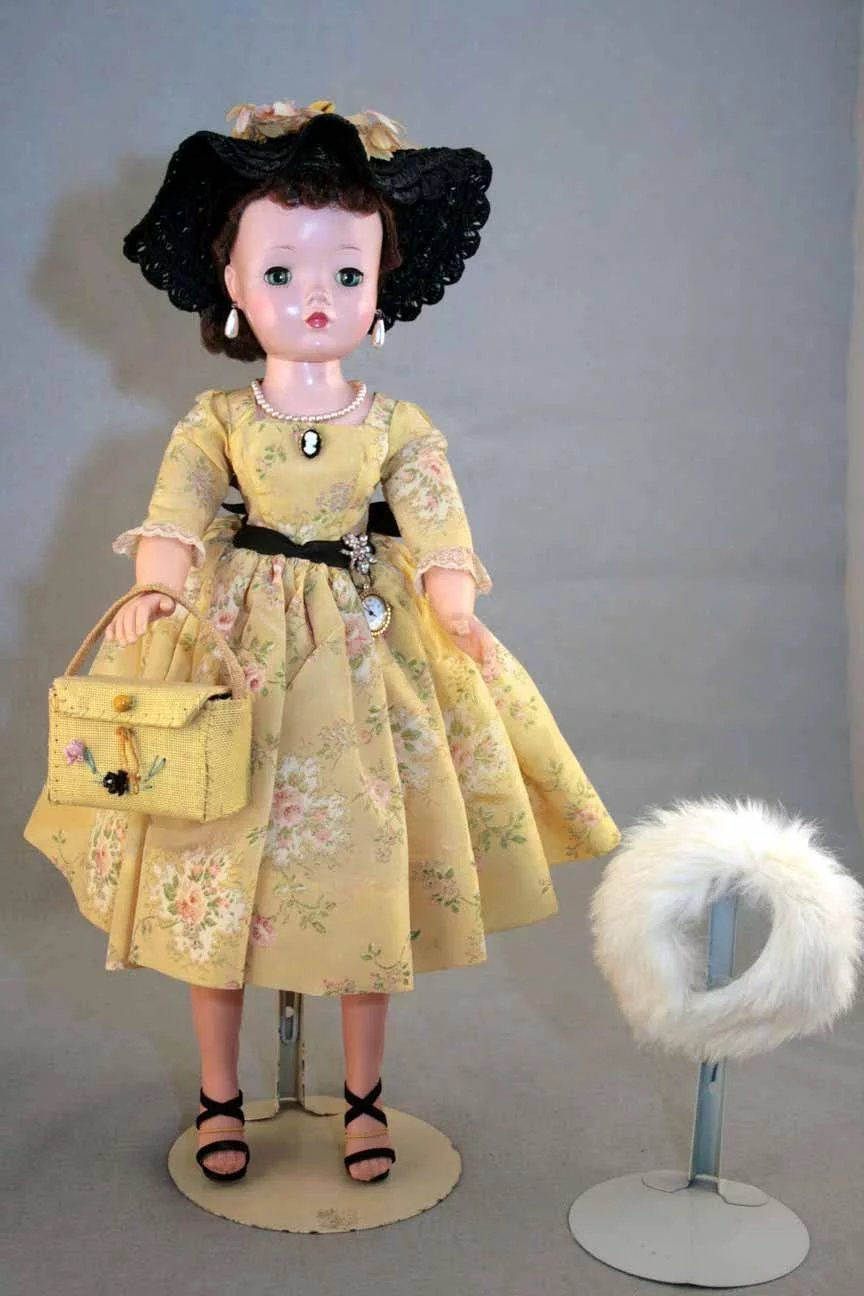 Cissy Doll Porcelain Type Hard Plastic Head Madame