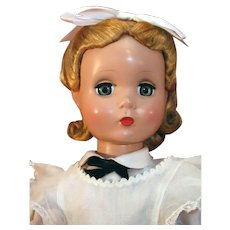 "Vintage Madame Alexander Maggie Face Alice In Wonderland 20"" tall from 1950's in very good condition."