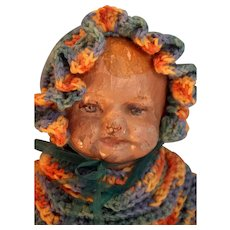 """Martha Chase Weighted Hospital Baby 19"""" Tall Circa 1910"""