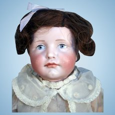 "Kammer and Reinhardt 19"" tall antique bisque doll mold 114 Gretchen"