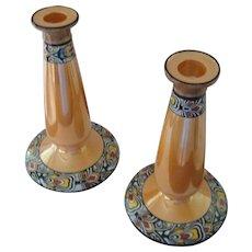 Noritake Lusterware Candlesticks
