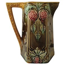 Frie Onnaing Majolica Pitcher