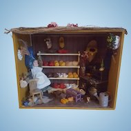 Old Dutch Wooden Shoe Store Diorama