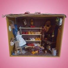 Old Dutch Wooden Shoe Store Diorama