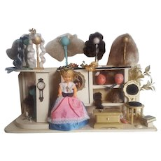 Dollhouse Shop Wigs Store