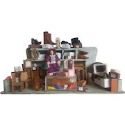 Old German Shoe Doll Store Dollhouse
