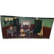 German Kitchen Dining Room 1930's