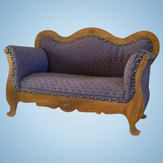 Old Jumeau Doll Size Bench