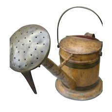 Rare Antique Watering Can Englisch