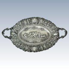 Rare Large Silver Bowl