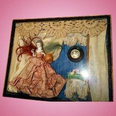 Dressel Kister Half Doll Diorama