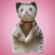 Antique Steiff Cat Hand Doll Puppet ca1910