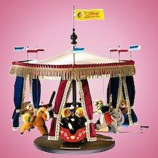 Steiff Millenium Carousel- Knopf Im Ohr