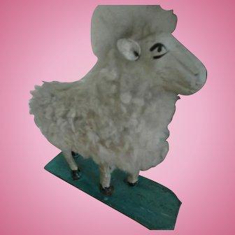 Big Rare Antique Sheep