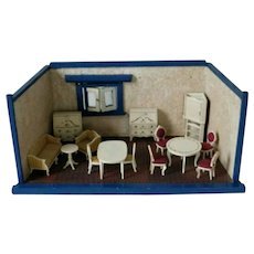 Old German Dollhouse Room