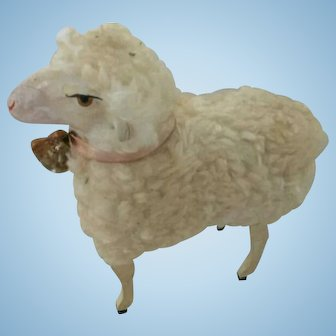 Big Antique Germany  Sheep With Sound