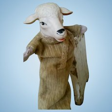 Old Hand Doll Sheep
