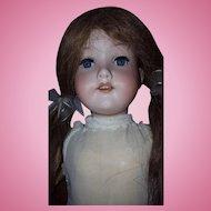 AM Armand Marseille 390 Bisque Doll 18 Inch