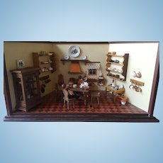 German Doll House Kitchen