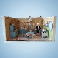 Early 1900's Dollhouse Kitchen