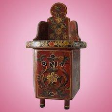 "Dutch antique ""hindeloopen"" doll chair"