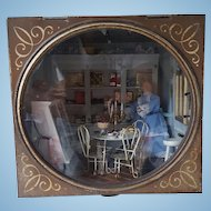 Pastry Shop in Antique Cake Tin Dollhouse