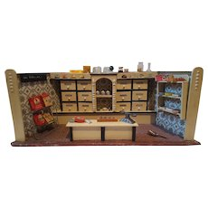 German Dollhouse Grocery Store