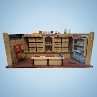SALE!! German Dollhouse Grocery Store