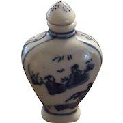 Chinese Kangxi Snuff Bottle Porcelain