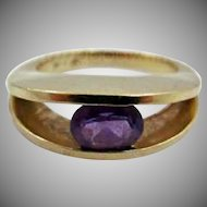 And for my next trick... 14k/Amethyst Ring