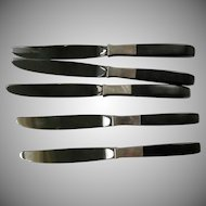 Lunt Contrast: Set of 5 Place Knives