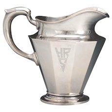 Alvin Sterling Deco Water Pitcher