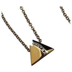 Ain't No Mountain High Enough - 14k Diamond Necklace