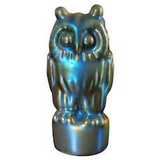 Zsolnay  Midcentury Owl