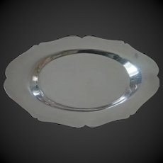 Classic sterling silver tray