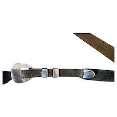 Cipriano Romero Navajo Ranger Belt Set