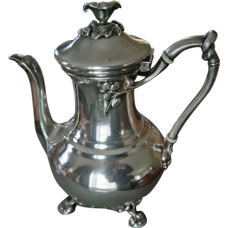 Christofle Art Nouveau Tea Pot - circa 1892-1896