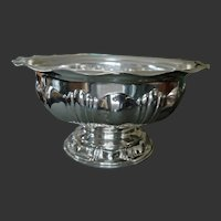 Outstanding Centerpiece Bowl - M.H. Wilkins & Söhne - 800 Silver/German