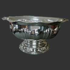 Outstanding Centerpiece Bowl - M.H. Wilkins & Söhne - 800 Silver/German