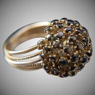 Ooh. Aah. 18k Black Star Sapphire Ring